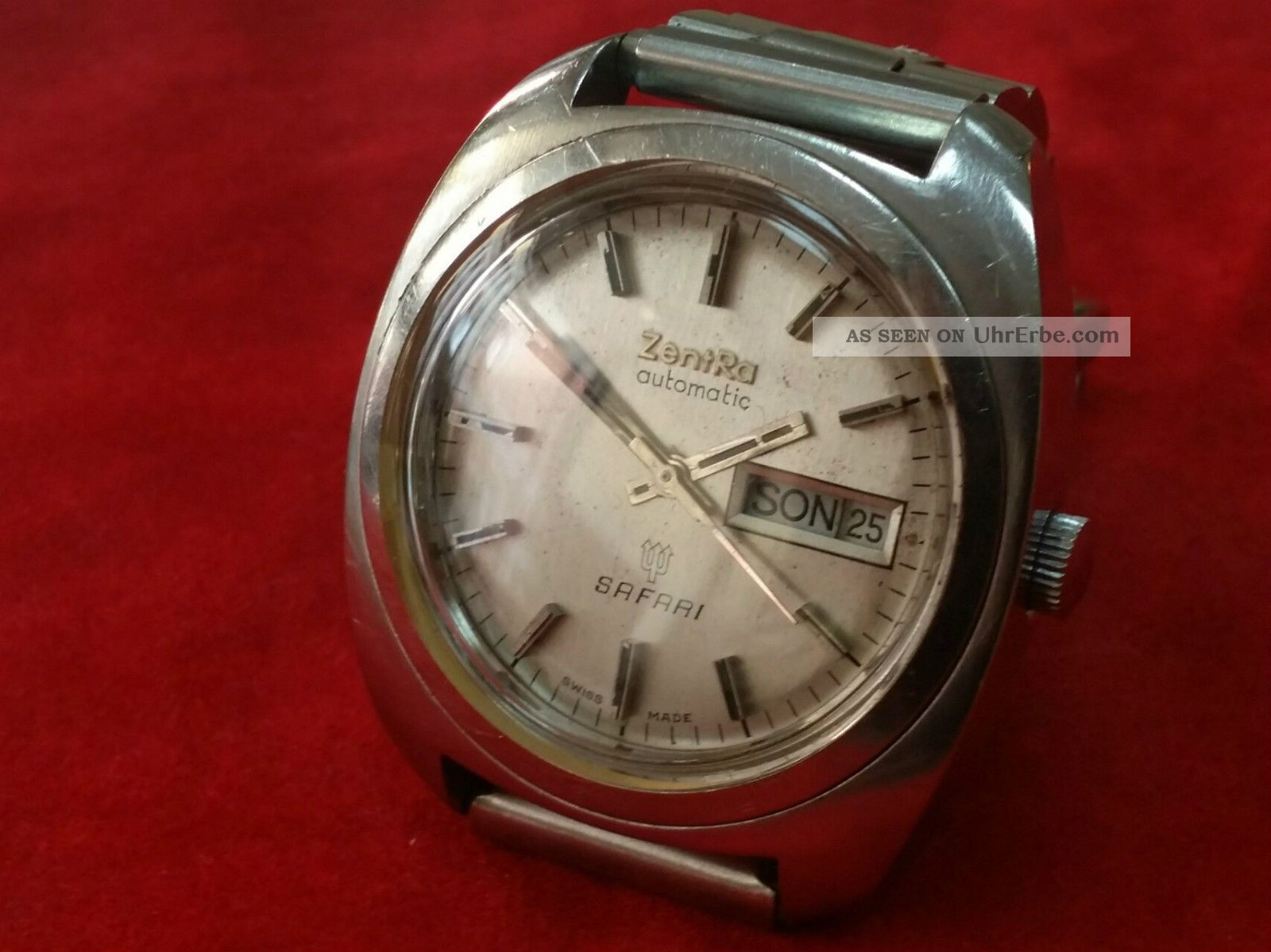 Zentra Automatic Safari / Swiss Made Armbanduhren Bild