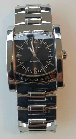 Bvlgari Bulgari Assioma Stahl Armband Uhr Damen Herren Uhr Bild