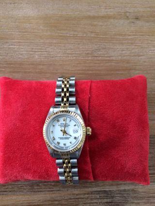 Rolex Datejust Ladies 26mm,  Stahl & Gold Bild