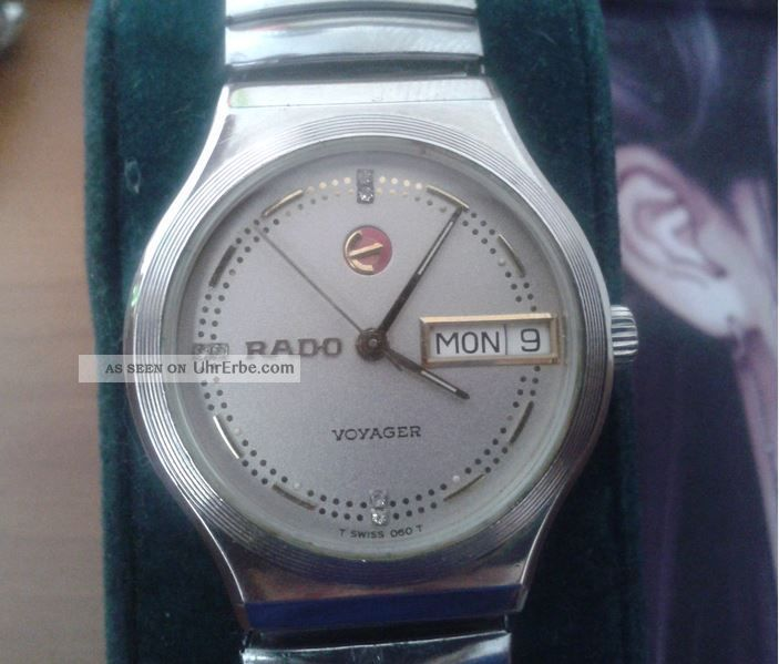 Rado Voyager Automatic 636.  3495.  4 Watersealed Armbanduhren Bild