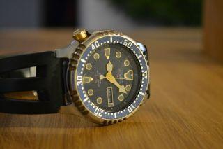 Citizen Promaster Diver Taucheruhr Für Herren Automatik Uhrwerk Bild
