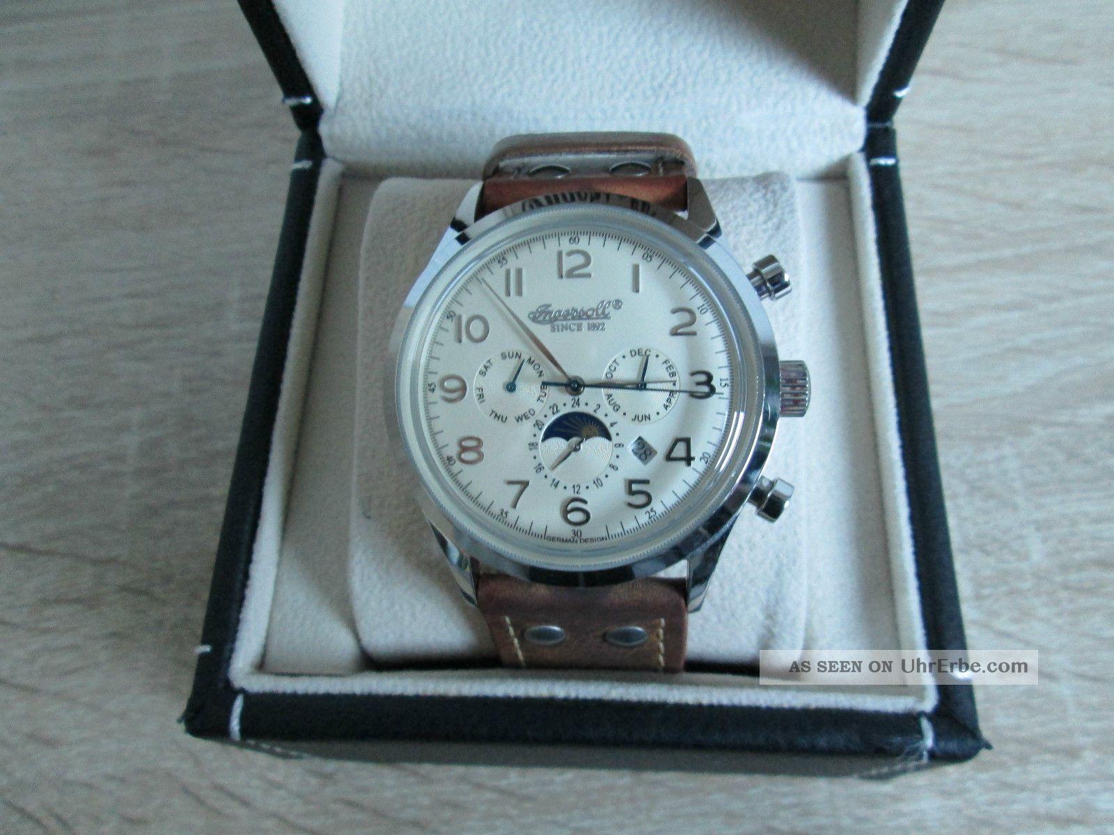 Ingersol Herren Automatikuhr,  In1205ch,  Neuwertig,  Top Armbanduhren Bild