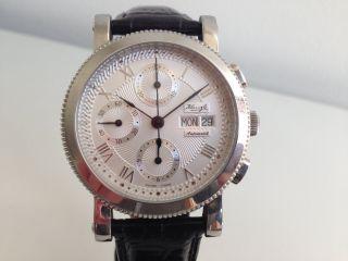Sammlerstück Sehr Selten Kienzle Chronograph Eta Valjoux 7750 Swiss Made Bild