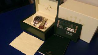 Rolex Gmt Master Ii,  Keramiklünette,  Ref.  116710ln Ungetragen Tresoruhr Bild