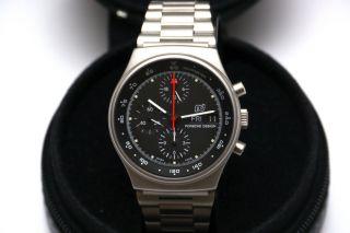 Porsche Design Chrono Vintage 1983 | Lemania 5100 | Box,  Umkarton,  Garantiekarte Bild