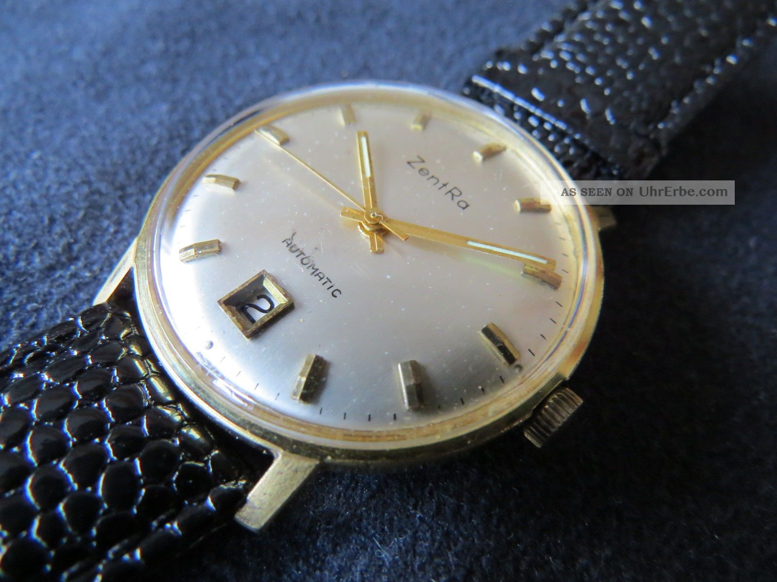 Zentra Automatic,  Eta 2472,  Vintage, Armbanduhren Bild