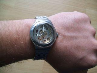 Uhr Sammlung An Bastler Swatch Irony 947 Swiss Mechanisch - Automatisch Herrenuhr Bild