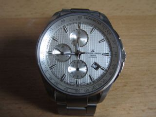 Jacques Lemans Geneve Chronograph,  Valjoux 7750,  Top Bild