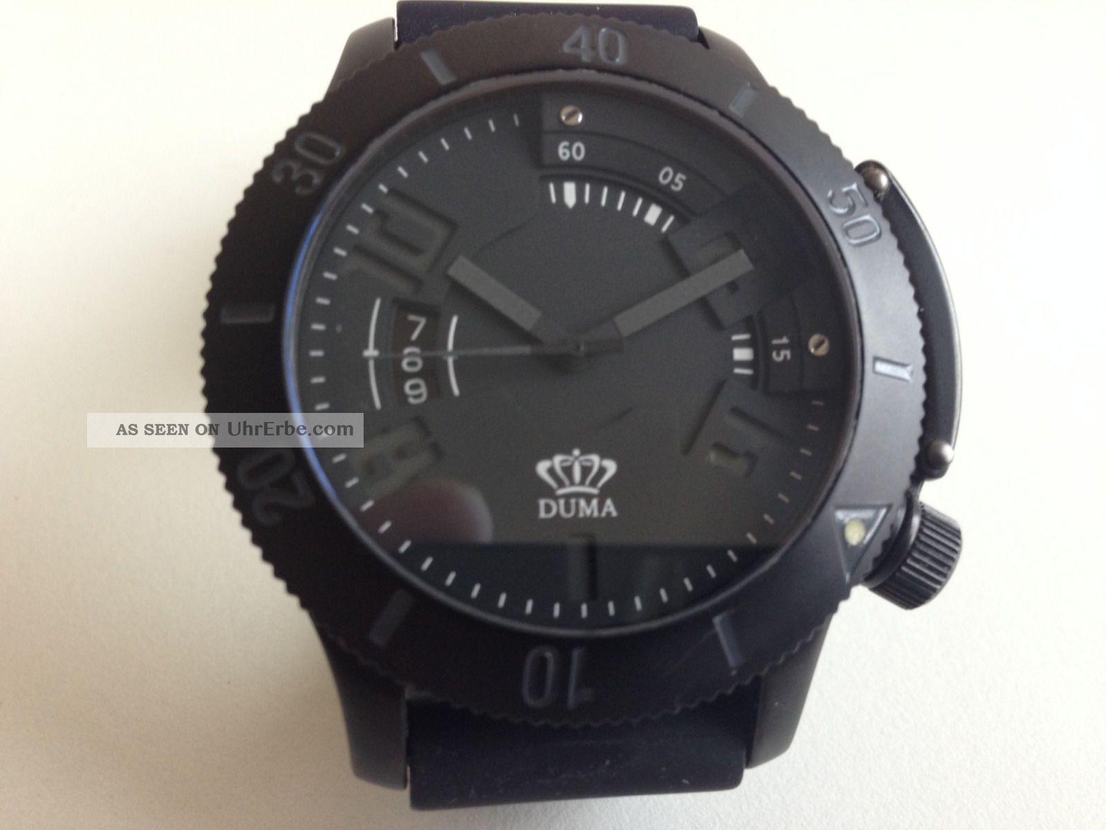 Bord/pilotenuhr Von Duma Automatik Stellmechanismus über Die Lünette Armbanduhren Bild