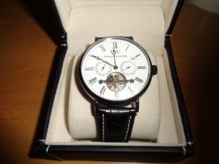 Iwc Schaffhausen Portofino 500 Armbanduhr Automatik Schwarz Bild