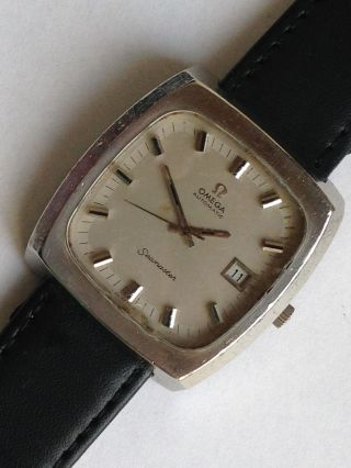 Origina Omega Seamaster Edelstahl Automatic Armbanduhr Bild
