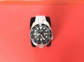 Uhr Seiko Automatik Diver Skx007k2 Herren 200m Bild