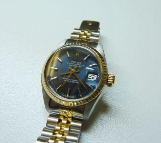 Rolex Lady Datejust Gold - Stahl Automatik Bild