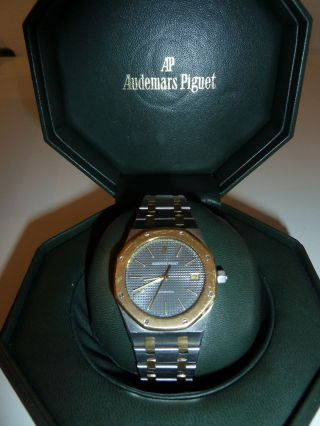 Audemars Piguet Royal Oak Jumbo Automatik Herren Stahl / Gold 18 Karat Bild