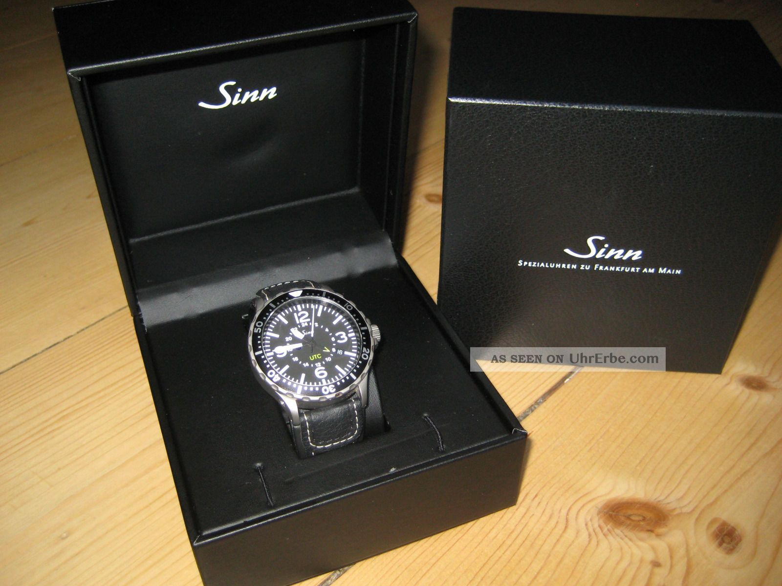 Sinn Automatikuhr 857 Utc - Absolut Neuwertig Armbanduhren Bild