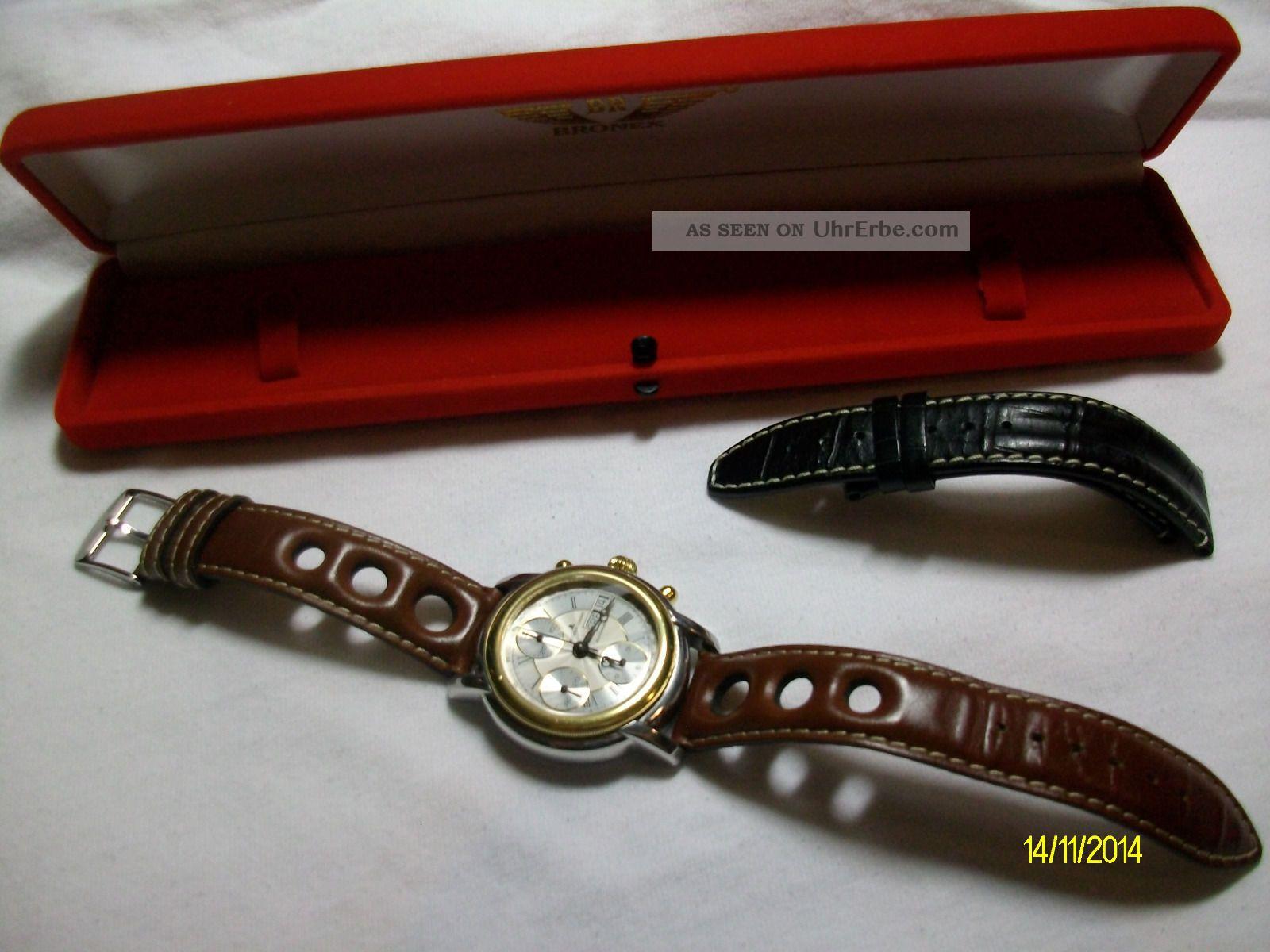 Jacques Lemans Edel Chrono Kaliber 7750 Armbanduhren Bild