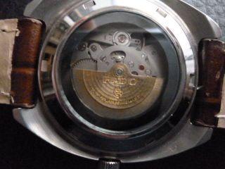 Rado Companion Glasboden Mechanische Uhr 17 Jewels Datum & Tag Lumi Zeiger Top Bild