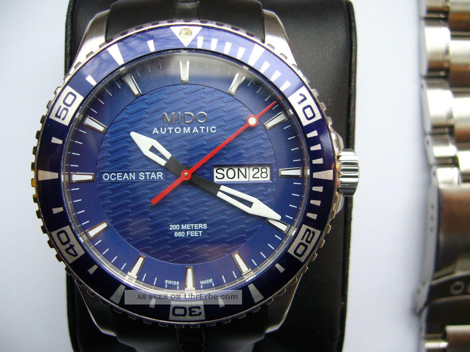 Mido Captain Iv Diver Automatic Armbanduhren Bild