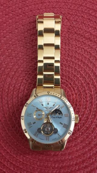 Minior Avignon - 88 Automatic Watch Stainless Steel Back 3atm Water Resistant Bild