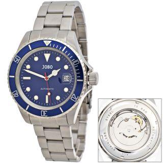 Jobo Automatik Herrenuhr Herrenarmbanduhr Uhr Glasboden Armbanduhr J - 41898 Bild