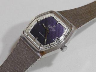 Armbanduhr Junghans Automatic Stahl 1960er Jahre Vintage Bild