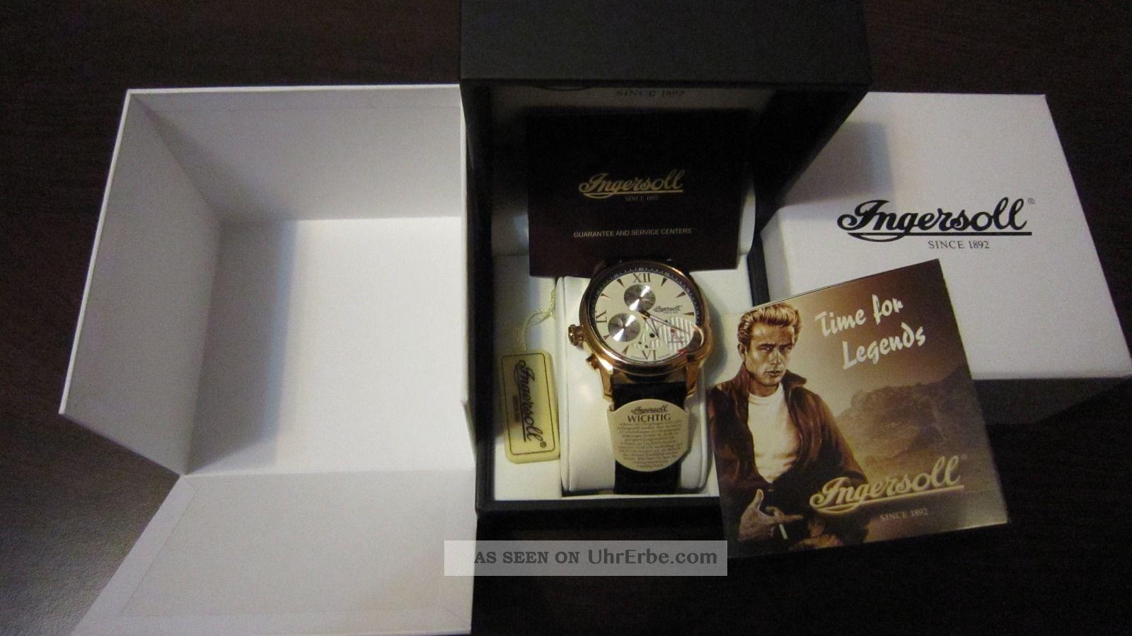 Ingersoll San Diego In 8010 Rcr Automatik Herrenuhr Armbanduhren Bild