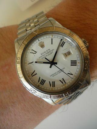 Rolex Datejust Turn - O - Graph Armbanduhr Für Herren (16250) Bild