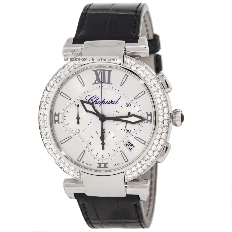 Chopard Imperiale Chrono 388549 - 3001 1,  75 Ct Diamanten Automatic Herrenuhr Armbanduhren Bild