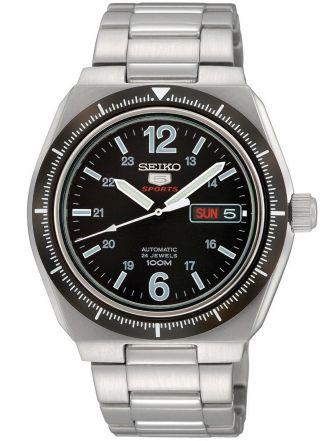 Seiko Sports Automatik Herren Uhr Srp247k1 Bild