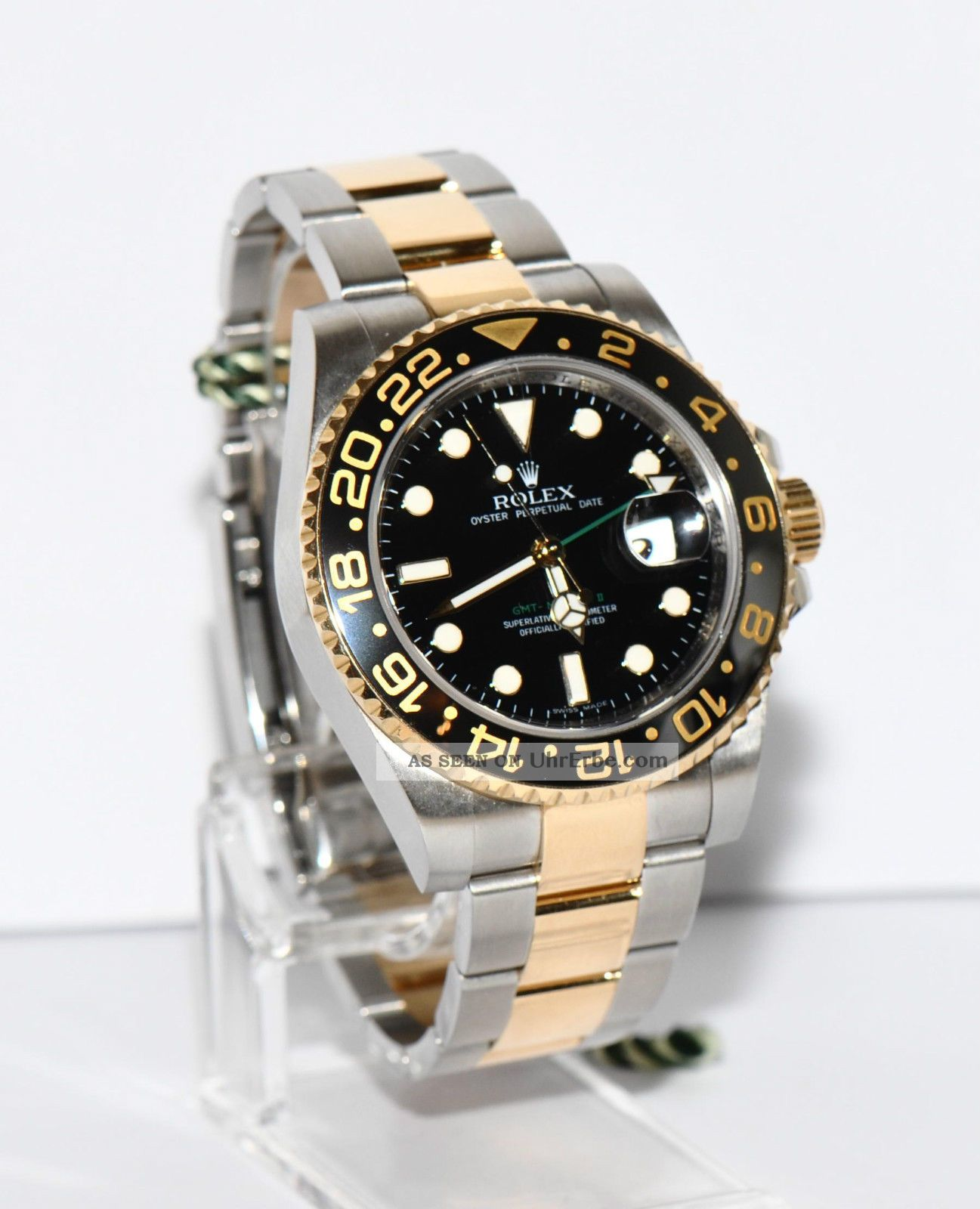 rolex gmt master ii stahl gold keramik 116713 papiere box 2006. Black Bedroom Furniture Sets. Home Design Ideas