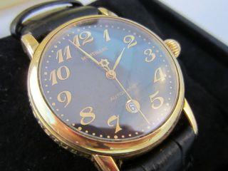 Montblanc Star Meisterstück Automatik 750 Gold Gehäuse Box & Papiere Reduziert Bild