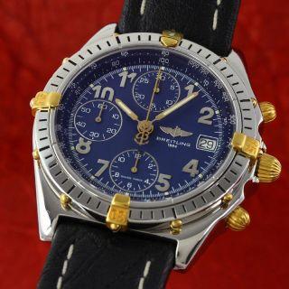 Breitling Chronomat Cockpit Chronograph Gold / Stahl Automatik B13048 Vp: 6690,  - Bild