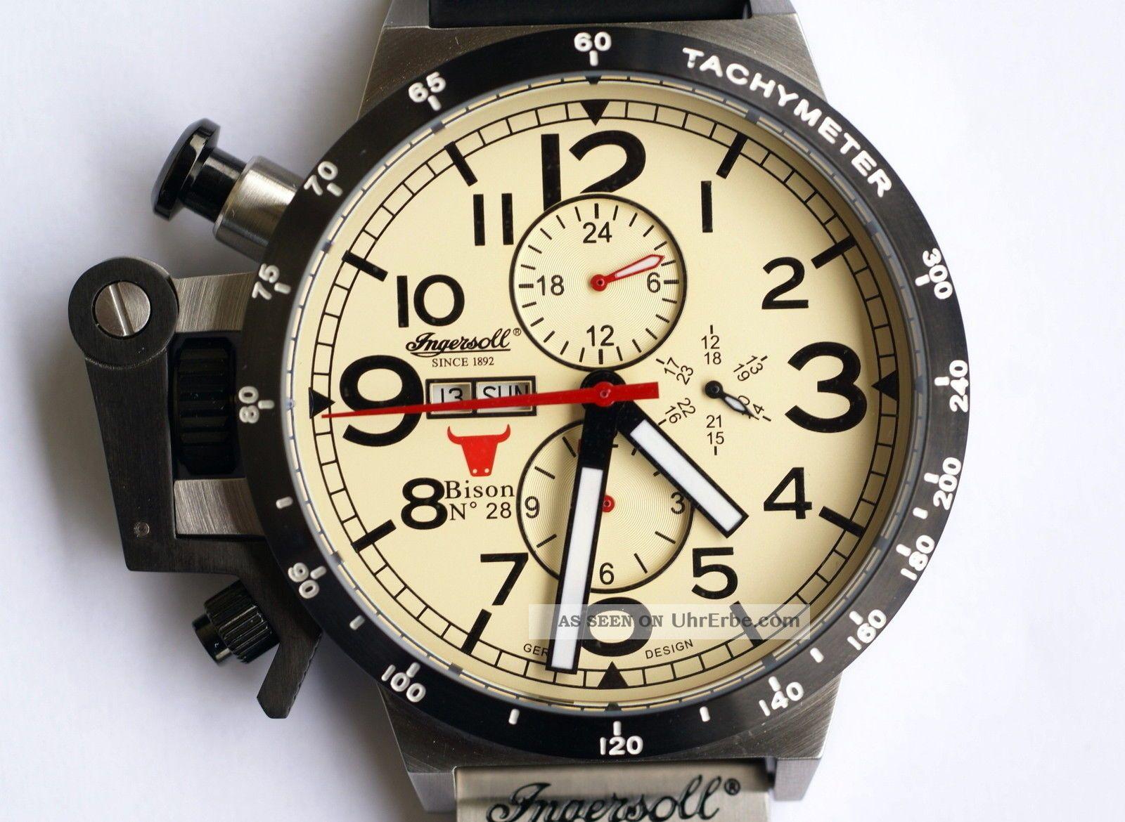 Ingersoll Bison No.  28 - In1607cr Armbanduhren Bild