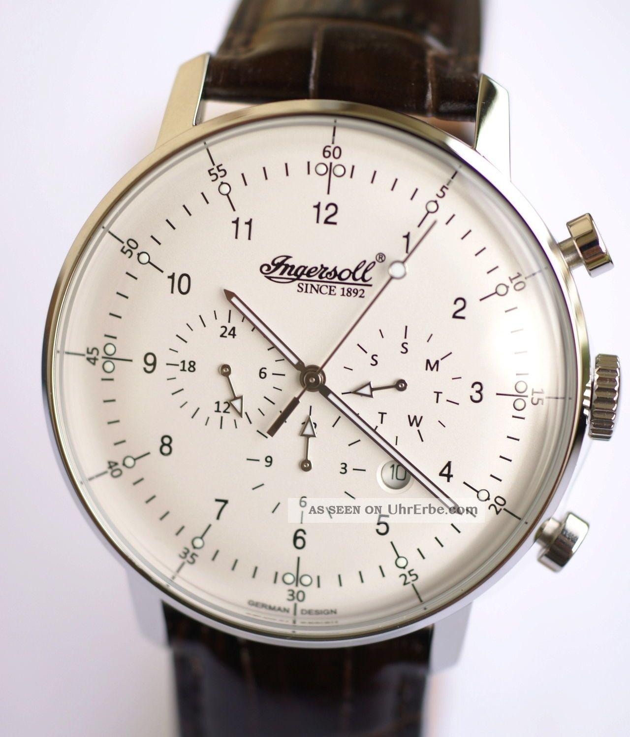 Ingersoll - Housten - Helles Ziffernblatt,  In2816wh Armbanduhren Bild