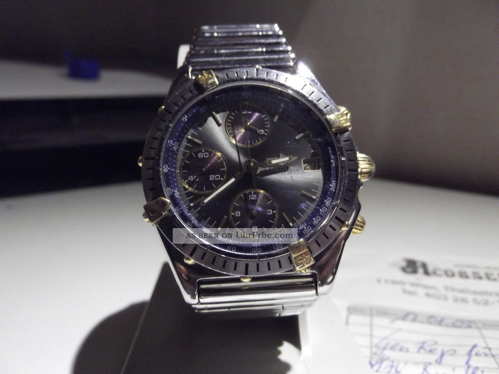 Breitling Chronomat Stahl_gold Armbanduhren Bild