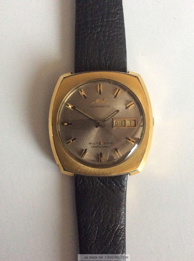 Mido Datoday Automatic Armbanduhr Armbanduhren Bild