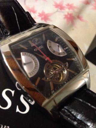 Guess Automatik Herren Uhr W25002g1 - Sonderedition - In Edler Geschenkschatulle Bild