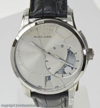 Maurice Lacroix Herrenuhr Tages - Und Nachtanzeige Luxusuhr Armbanduhr Nr.  1507 Bild