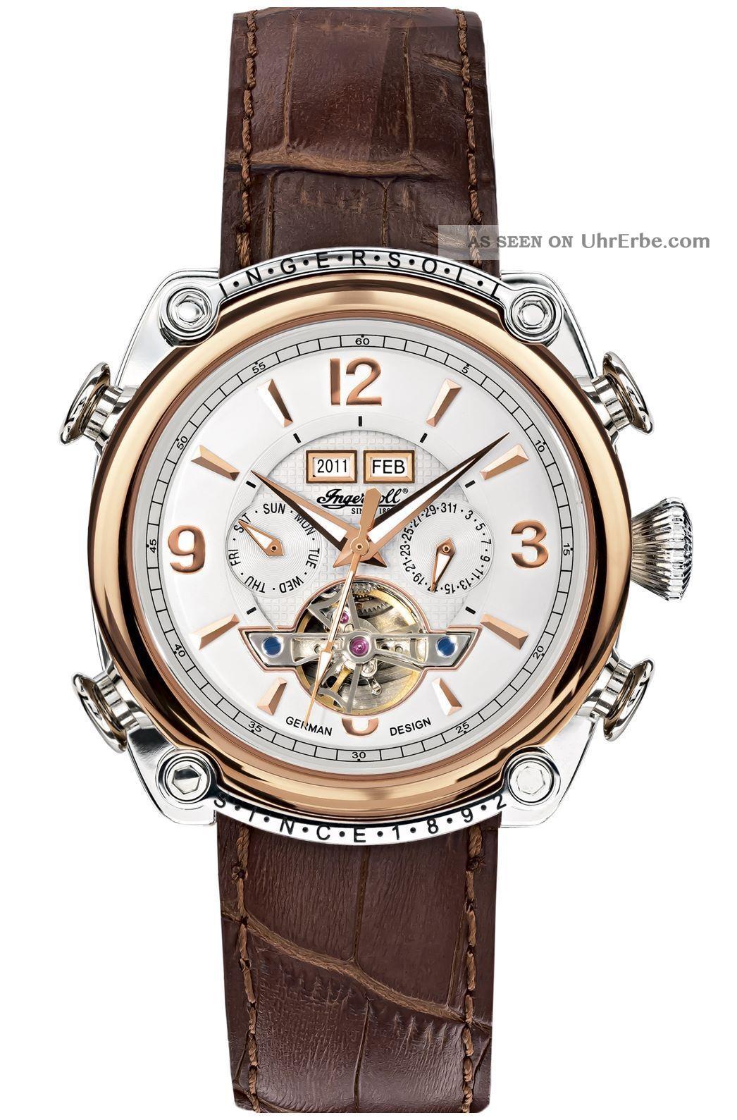 Ingersoll - Montgomery - In4505rwh Herrenarmbanduhr Und Armbanduhren Bild