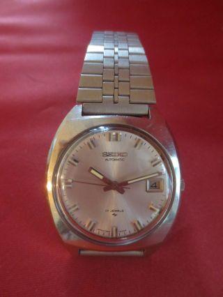 Seiko Automatic 17 Jewels Japan Vintage Herren Armbanduhr - Wrist Watch Bild
