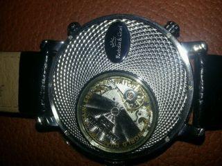 Edle Automatic Herrenarmbanduhr,  Roebelin & Graf,  Big World,  Top Bild