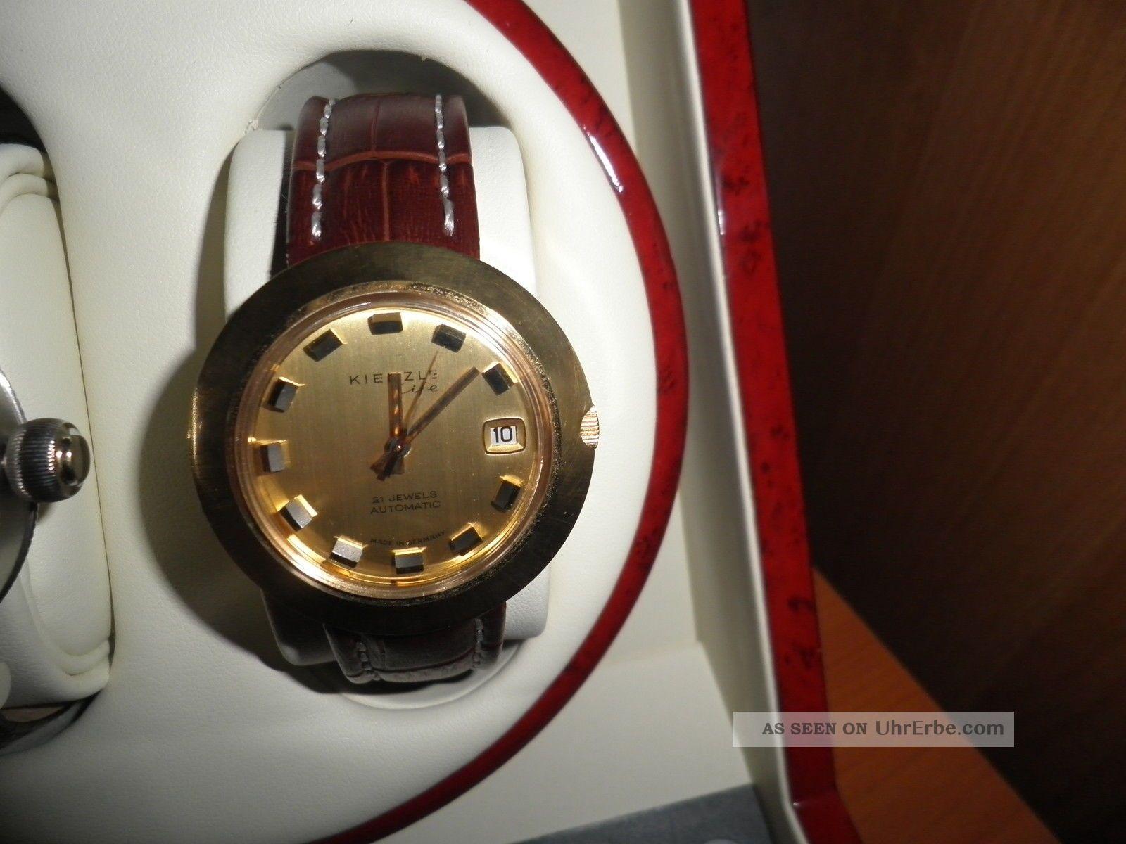 Herrenarmbanduhr Kienzle Automatic Armbanduhren Bild