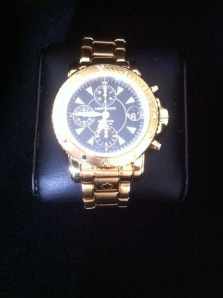 Montblanc Master Chronograph Gold / Gold Bild