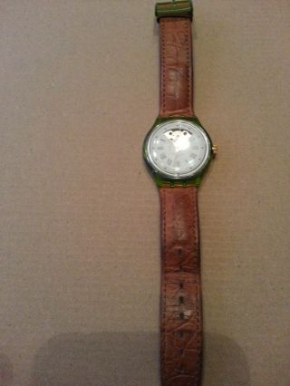 Swatch Automatic Armbanduhr Bild