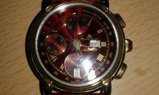 Maurice Lacroix Herren - Chronograph - Bordeauxrot Automatic Bild