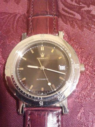 Maserati Official Timepiece Trident Automatic Uhr Armbanduhr Ghibli Quattroporte Bild