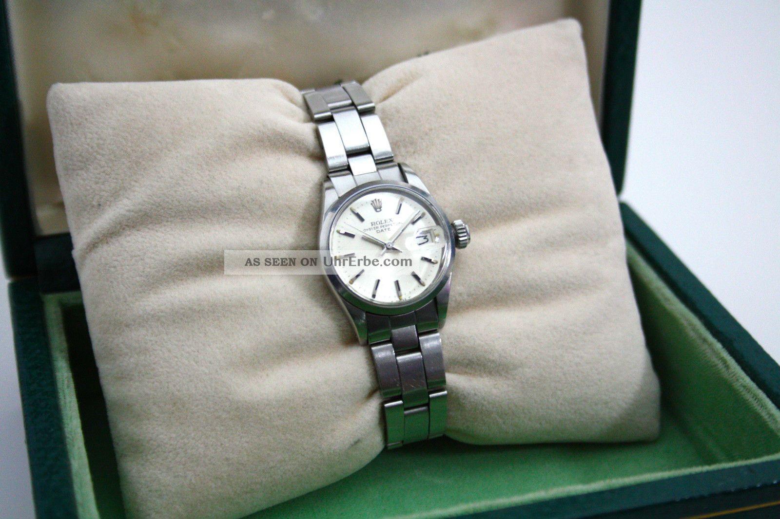 I Rolex Lady Date I Armbanduhren Bild