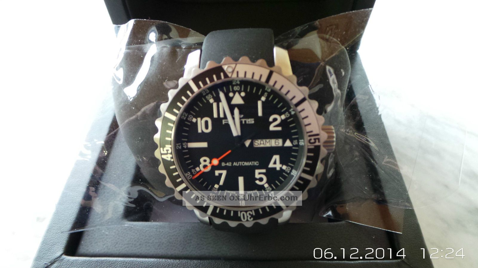 Fortis B42 Marinemaster Day - Date Und Komplett Verklebt Armbanduhren Bild
