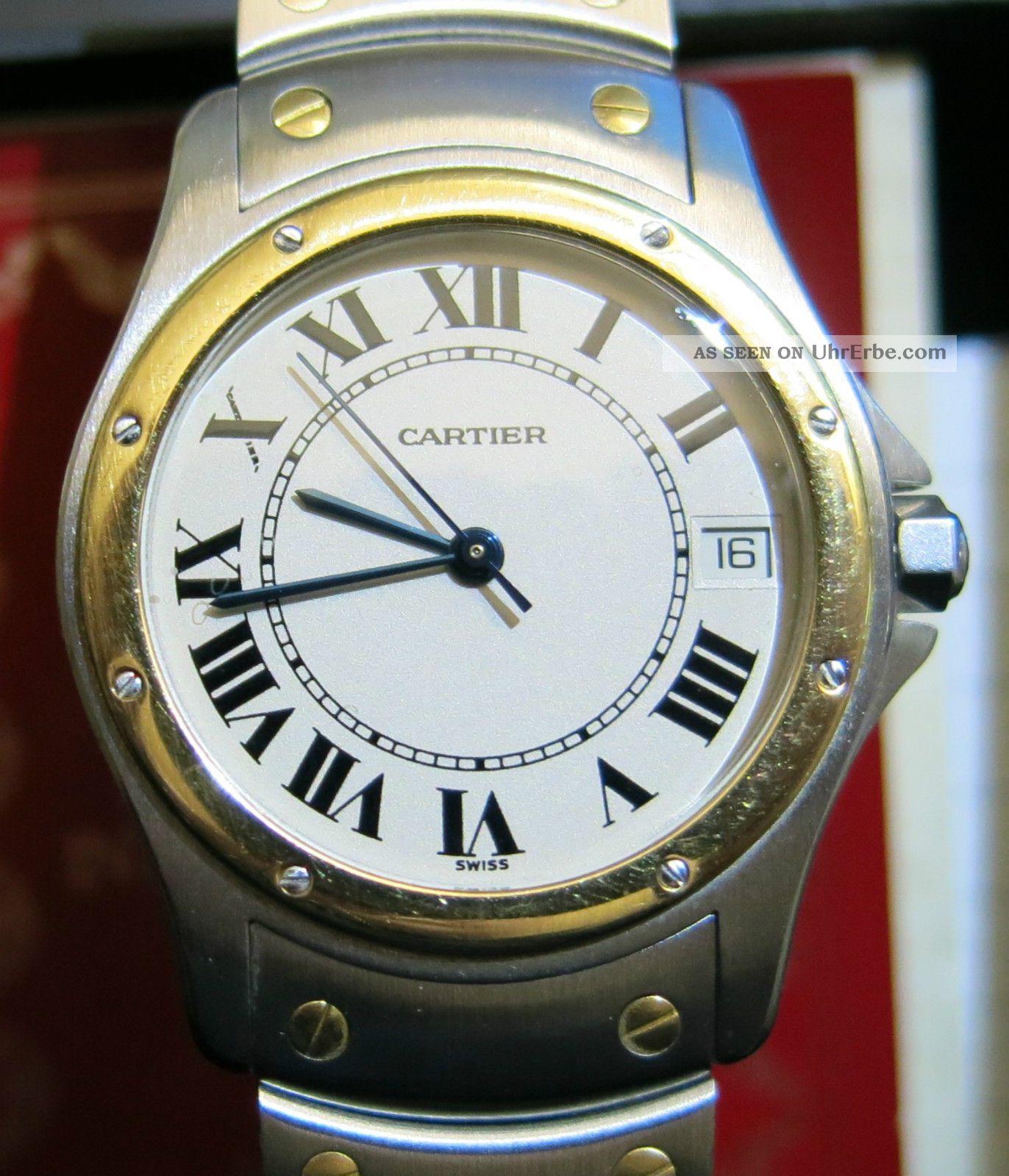 Cartier Santos Ronde Armbanduhren Bild
