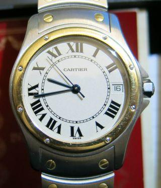 Cartier Santos Ronde Bild